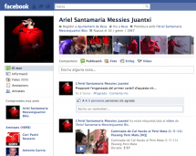Ariel Santamaria Messies Juantxi a Facebook