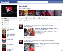 Tele Cori a Facebook