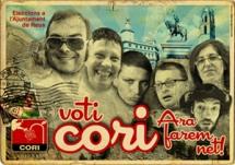 Cartell electoral de la CORI Reus 2011