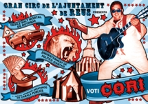 Cartell alternatiu electoral de la CORI Reus 2011