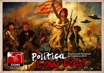 La liberté guidant le peuple, delacroix, parlament, 2010, catalunya, cartell, electoral