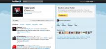Tele Cori a Twitter