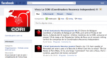 Visca la CORI! grup facebook